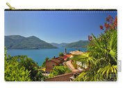 Panoramic View Over An Alpine Lake Carry-all Pouch