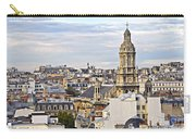 Paris Rooftops Carry-all Pouch by Elena Elisseeva