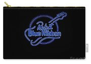 Pbr In Blue Neon Carry-all Pouch