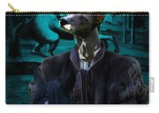 Peruvian Hairless Dog Art Canvas Print Carry-all Pouch