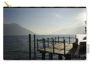 Pier In Backlight Carry-all Pouch