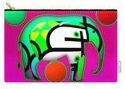 Pink Elephant Carry-all Pouch