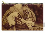 Portrait Of Jane Morris Carry-all Pouch