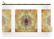 Prayer Flag Triptych  Carry-all Pouch by Carol Leigh