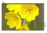 Primula Cowslip Fairy Cups Carry-all Pouch