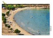 Psili Ammos Beach In Serifos Island Carry-all Pouch