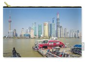 Pudong Skyline In Shanghai China Carry-all Pouch