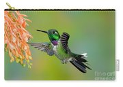 Purple-bibbed Whitetip Hummingbird Carry-all Pouch