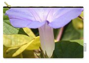 Purple Morning Glory Carry-all Pouch
