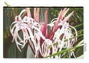 Queen Emma Crinum Lilies Carry-all Pouch