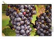 Red Grapes Carry-all Pouch by Elena Elisseeva