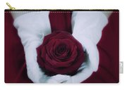 Red Rose Carry-all Pouch by Joana Kruse
