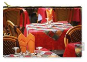 Restaurant Patio In France Carry-all Pouch