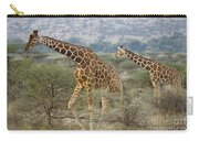 Reticulated Giraffe Carry-all Pouch
