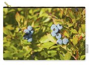 Ripe Maine Low Bush Wild Blueberries Carry-all Pouch