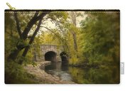 Riverbank Reflections Carry-all Pouch