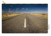 Road Ahead Carry-all Pouch by Tim Hester