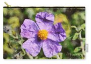 Rockrose Flower Carry-all Pouch