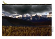 Rocky Mountains In Winter Carry-all Pouch