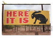 Route 66 - Jack Rabbit Trading Post Carry-all Pouch