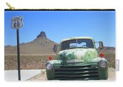 Route 66 - Old Green Chevy Carry-all Pouch