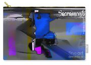 Sacramento Map Watercolor Carry-all Pouch