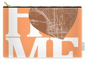 San Diego Street Map Home Heart - San Diego California Road Map  Carry-all Pouch