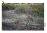 Sandhill Crane Carry-all Pouch