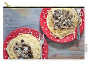 Sardines And Spaghetti Carry-all Pouch by Tom Gowanlock