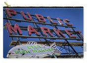 Seattle Market Sign Carry-all Pouch