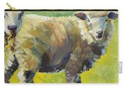 Sheep Painting Carry-all Pouch