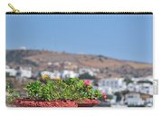 Flowerpots In Sifnos Island Carry-all Pouch