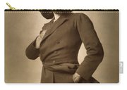 Sir Herbert Beerbohm Tree Carry-all Pouch