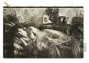 Sleeping Woman, C1900 Carry-all Pouch