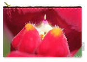 Snapdragon Named Red Chimes Carry-all Pouch