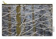 Snow Covered Trees Carry-all Pouch