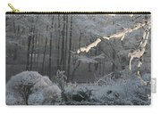 Snowy Trees Landscape Carry-all Pouch