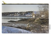 South Bristol On The Coast Of Maine Carry-all Pouch
