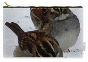 3 Sparrows Carry-all Pouch