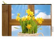 Spring Window Carry-all Pouch by Amanda Elwell