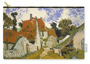 Street In Auvers-sur-oise Carry-all Pouch