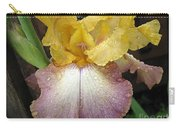 Tall Bearded Iris Named Butterfingers Carry-all Pouch