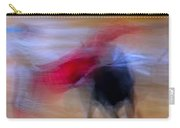 Tauromaquia Abstract Bull-fights In Spain Carry-all Pouch by Guido Montanes Castillo