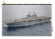 The Amphibious Assault Ship Uss Essex Carry-all Pouch