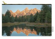 The Grand Tetons Schwabacher Landing Grand Teton National Park Carry-all Pouch