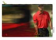 Tiger Woods Carry-all Pouch by Marvin Blaine