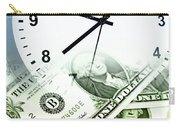 Time Is Money Concept Carry-all Pouch by Les Cunliffe