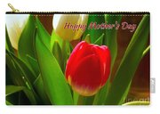 3 Tulips For Mother's Day Carry-all Pouch