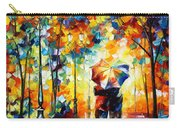 Under One Umbrella Carry-all Pouch by Leonid Afremov