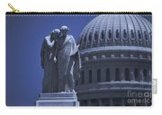 Us Capitol Peace Monument  Carry-all Pouch
